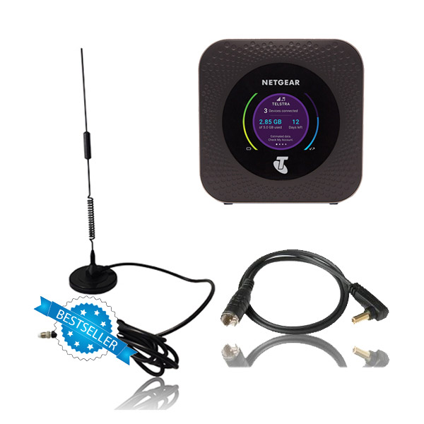 Strike Antenna with Patch Lead for Telstra Netgear